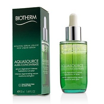 ไบโอเธิร์ม Aquasource Aura Concentrate Intense Regenerating Serum - Suitable For Sensitive Skin