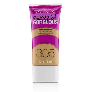 Covergirl Ready Set Gorgeous Oil Free Foundation - # 305 Golden Tan