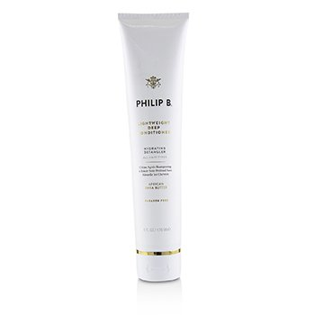 Philip B Lightweight Deep Conditioner - # Paraben-Free Formula (Hydrating Detangler - All Hair Types)