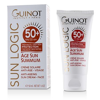 Guinot Sun Logic Age Sun Summum Ant-Ageing Sun Cream For Face SPF 50+