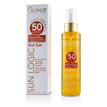 Guinot Sun Logic Age Sun Anti-Ageing Sun Dry Oil For Body SPF 50