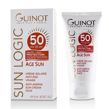 Guinot Sun Logic Age Sun Anti-Ageing Sun Cream For Face SPF 50