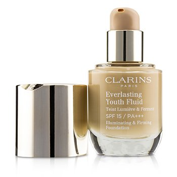 Clarins Everlasting Youth Fluid Illuminating & Firming Foundation SPF 15 - # 110 Honey