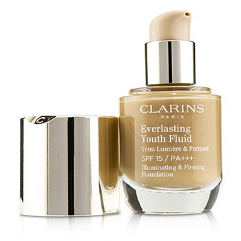 Clarins Everlasting Youth Fluid Illuminating & Firming Foundation SPF 15 - # 113 Chestnut