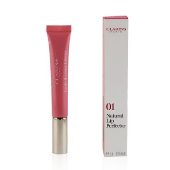 Clarins Natural Lip Perfector - # 01 Rose Shimmer