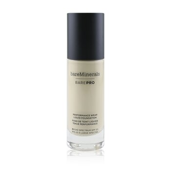 Bare Escentuals BarePro Performance Wear Liquid Foundation SPF20 - # 02 Ivory