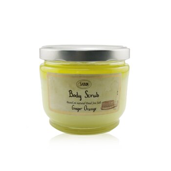 Sabon Body Scrub - Ginger Orange