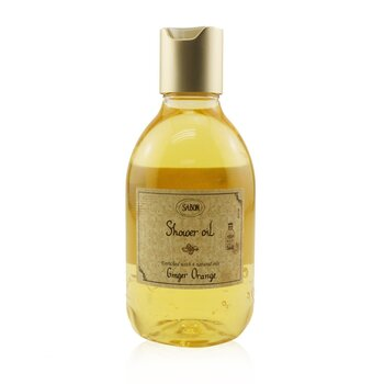 Sabon Shower Oil - Ginger Orange (Plastic Bottle)