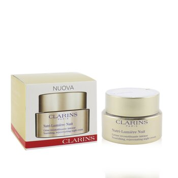 Clarins Nutri-Lumiere Nuit Nourishing, Rejuvenating Night Cream