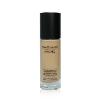 Bare Escentuals BarePro Performance Wear Liquid Foundation SPF20 - # 17 Fawn