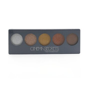 Cinema Secrets Ultimate Eye Shadow 5 In 1 Pro Palette - # Chroma Collection