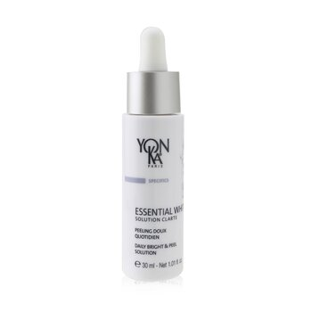 Yonka Specifics Essential White With Ficus Flower & AHA - Daily Bright & Peel Solution