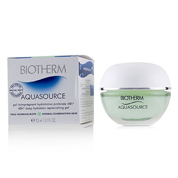 ไบโอเธิร์ม Aquasource 48H Deep Hydration Replenishing Gel - Normal/Combination Skin (Jar)